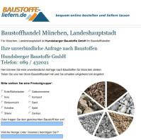 Hundsberger Baustoffe GmbH München