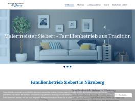 Malermeister Siebert    Oliver Siebert Nürnberg, Mittelfranken