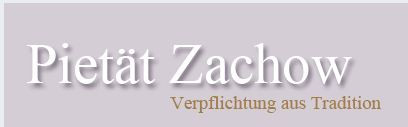 Bild zu Bestattungsinstitut Pietät Zachow in Liederbach