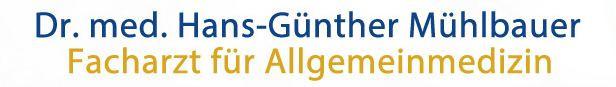 Logo Dr. med. Hans-Günther Mühlbauer Facharzt für Allgemeinmedizin