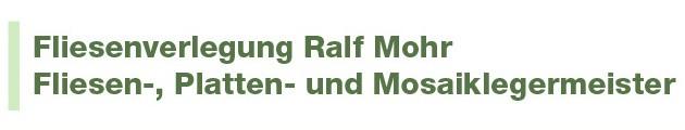 Bild zu Fliesenlegermeister Ralf Mohr - Fliesen-, Platten- und Mosaikleger in Düsseldorf