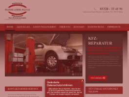 Autoservice Frank Zillmann Werkstatt am Kreisverkehr Teltow