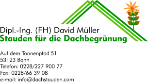 Firmenlogo: Staudengärtnerei David Müller