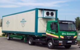 Tiefkühlcontainer mit eigenem Lieferfahrzeug