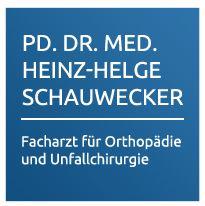 Firmenlogo: Praxis 105 Privatdozent Dr. med. Heinz Helge Schauwecker Ihr Orthopäde in Charlottenburg