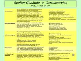 Sven Spelter Gebäude- & Gartenservice Barmstedt