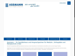 Assmann GmbH · Sanitätshaus Kiel