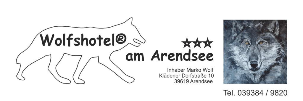 Logo von Wolfshotel am Arendsee Inhaber Marko Wolf