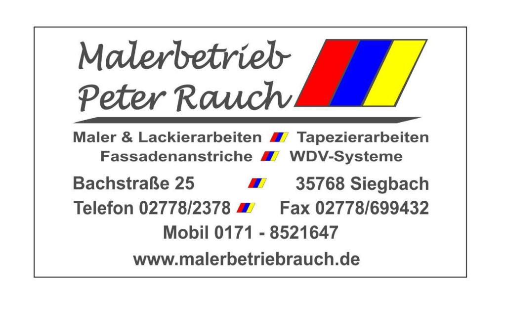 Bild zu Malerbetrieb Rauch in Siegbach