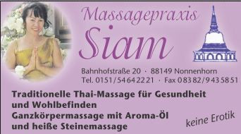 Bild zu Massagepraxis SIAM in Nonnenhorn