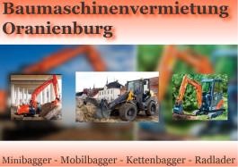 Baumaschinenvermietung Oranienburg Oranienburg