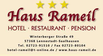 Bild zu Hotel Haus Rameil in Lennestadt