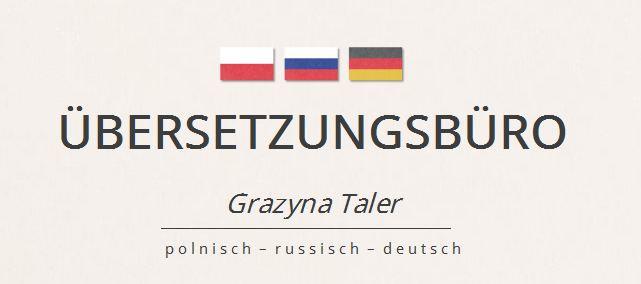 Bild zu Übersetzungsbüro Grazyna Taler in Affalterbach in Württemberg