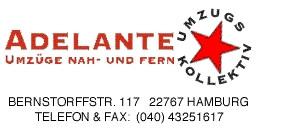 Bild zu Adelante GmbH Umzugskollektiv in Hamburg