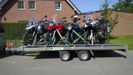 4er Motorrad-Transporter