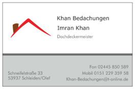 Khan Bedachungen Schleiden, Eifel