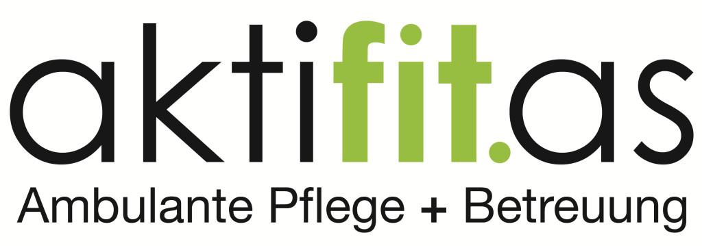 Logo aktifit.as  Ambulante Pflege + Betreuung