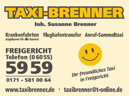 Logo von Taxi Brenner