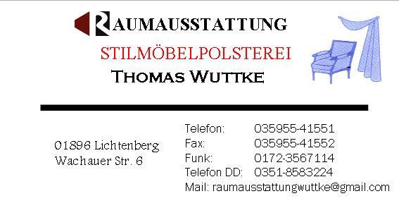 Bild zu Thomas Wuttke Raumausstattung in Lichtenberg bei Bischofswerda