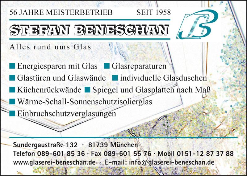 Bild zu Glaserei Beneschan in München