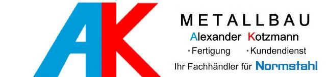 Logo von Alexander Kotzmann Metallbau