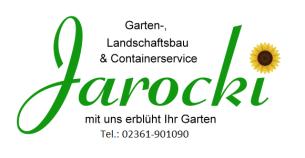 Firmenlogo: Jarocki Garten,- Landschaftsbau  & Containerservice