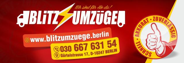 Blitz Umzüge Berlin blitz umzüge umzugsunternehmen berlin friedrichshain 90