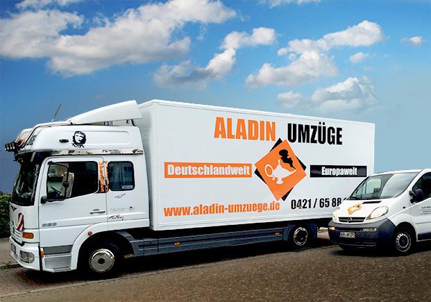 Bild der Aladin Multidienst - Ihr zurverlässiger Partner für Umzüge und Möbeltransporte in Achim bei Bremen