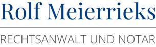 Firmenlogo: Rechtsanwalt und Notar Rolf Meierrieks