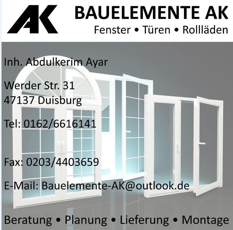Bauelemente ak in duisburg branchenbuch deutschland - Fenster turen bauelemente busch duisburg ...