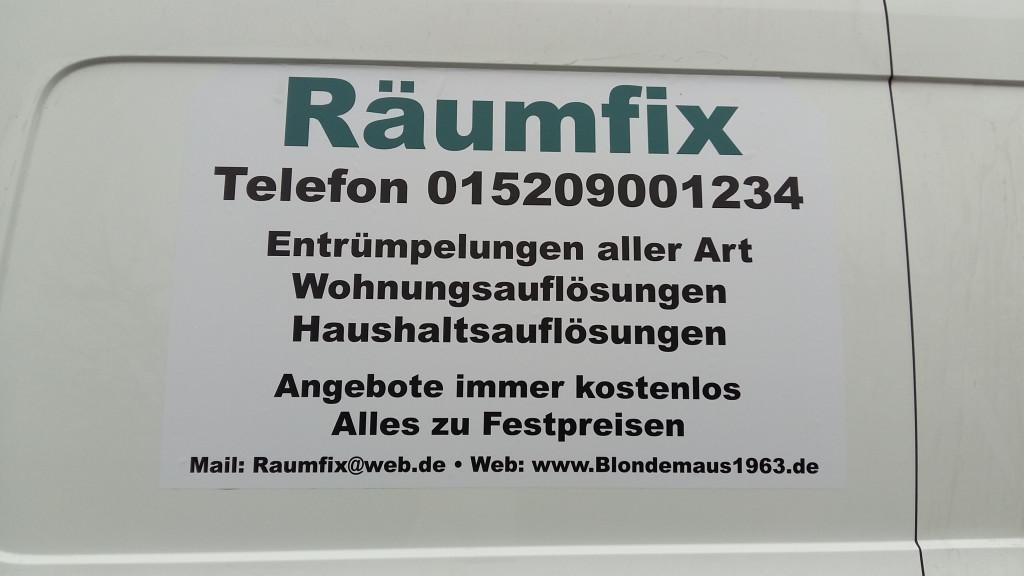 Bild zu Räumfix Sonja Leckczyck in Saarbrücken