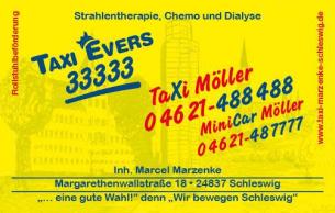 Firmenlogo: Taxi Evers & Taxi Möller aus Schleswig
