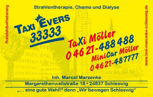 Bild zu Taxi Evers & Taxi Möller aus Schleswig in Schleswig