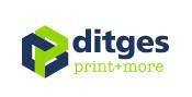 Logo Ditges print+more GmbH in Siegburg