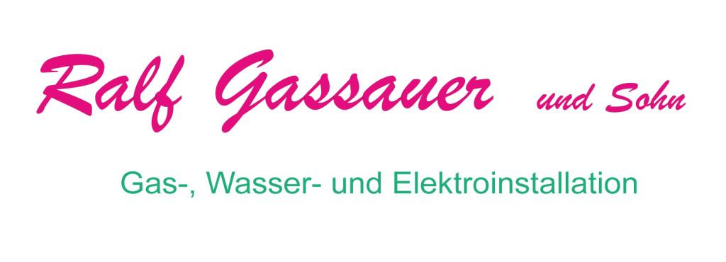 Logo von Ralf Gassauer und Sohn Gas Wasser und Elektroinstallation