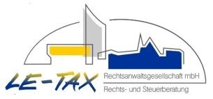 Firmenlogo: LE-TAX Rechtsanwaltsgesellschaft mbh