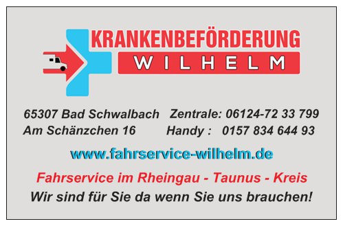 Bild zu Krankenbeförderung Wilhelm in Taunusstein