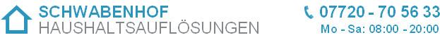 Bild zu SCHWABENHOF Haushaltsauflösungen Stuttgart in Stuttgart