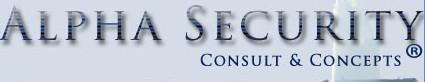 Logo Alpha Security Consult & Concepts