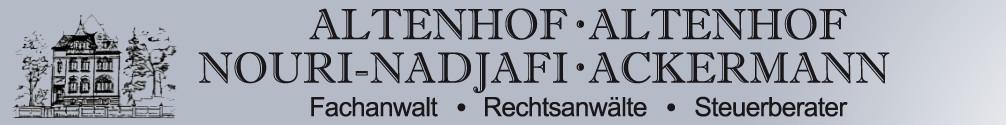 Bild zu Rechtsanwälte Altenhof & Nouri-Nadjafi in Velbert