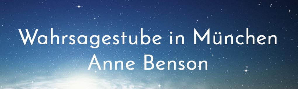 Bild zu Wahrsagestube München - Anne Benson in München