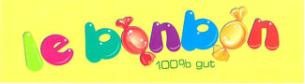 Firmenlogo: le bonbon 100% gut