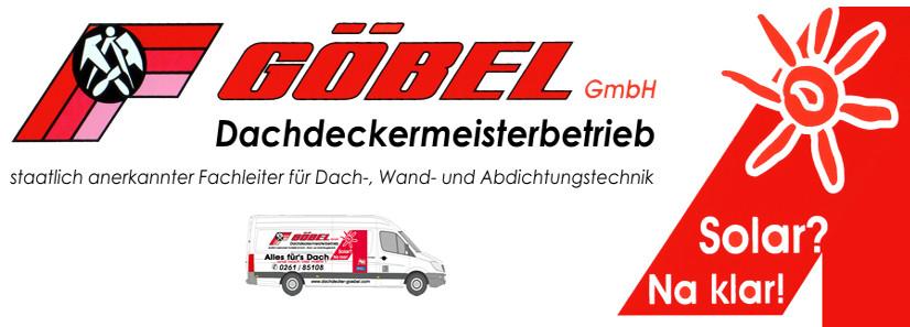Logo von Göbel Dachdeckermeisterbetrieb GmbH