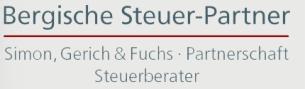 Firmenlogo: Bergische Steuer-Partner Simon, Gerich und Fuchs Steuerberater Partnerschaftsgesellschaft