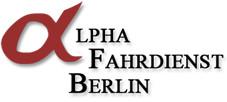 Logo von Alpha Fahrdienst