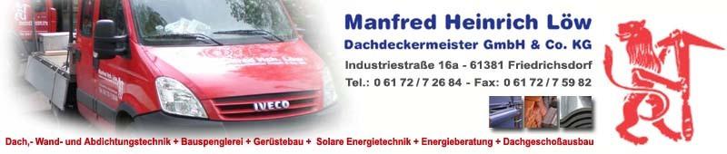 Bild zu Manfred Heinrich Löw GmbH & Co. KG in Friedrichsdorf im Taunus