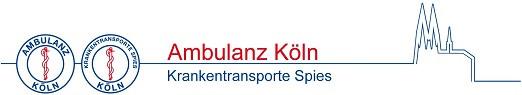 Logo von Ambulanz Köln Spies GmbH