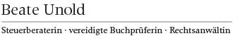 Bild zu Beate Unold Steuerberater in Mainz