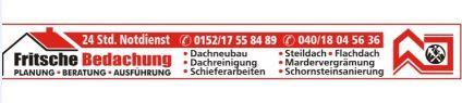Logo von Fritsche Bedachung