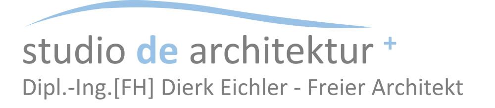 studio de architektur+ ; Dipl.-Ing. FH Dierk Eichler - Freier Architekt